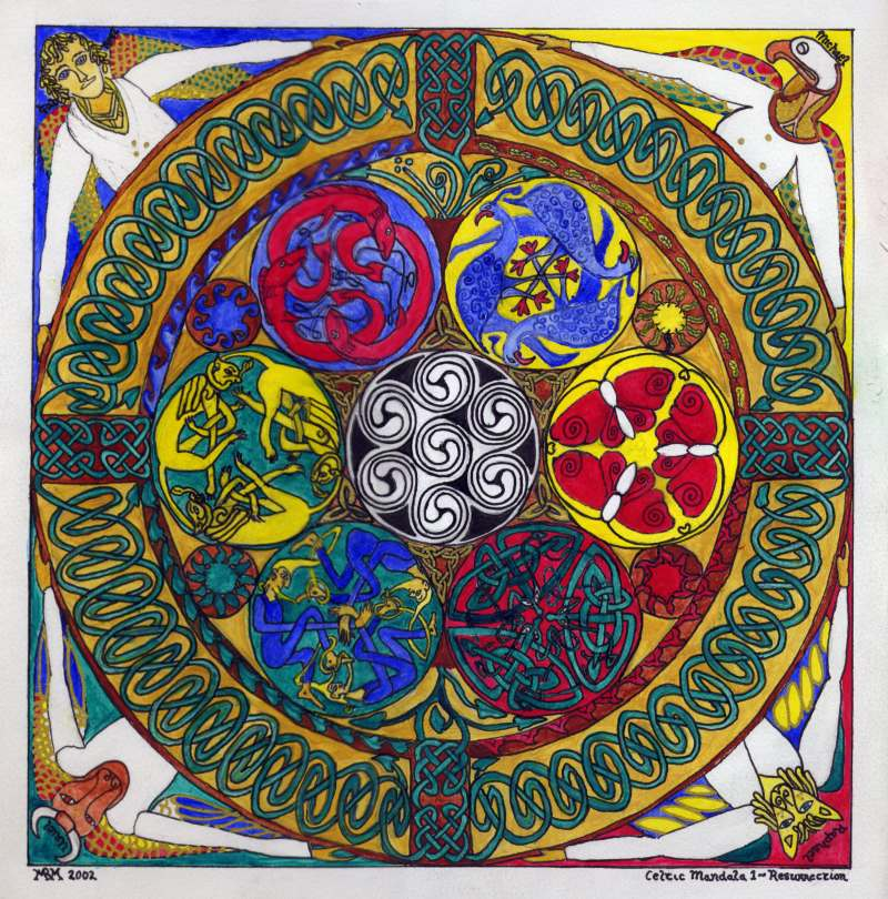 Celtic Mandala: Resurrection